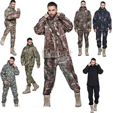 *Mens Military Tactical Soft Outdoor Suits Waterproof Hunting Coat&Pants--Hot.1