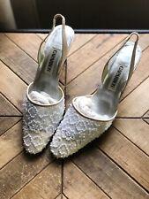 Caparros Woman Sequin Embellishment Low Pump Heels