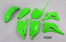Kit plastique UFO motocross Kawasaki KX 85 2014 - 2018 vert fluo