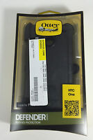 OtterBox Defender Series Case for HTC One - Retail Packaging - Black
