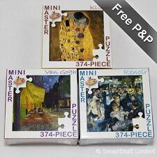 Mini Master Jigsaw Puzzle Compilation Set 3 - Van Gogh / Renoir / Klimt