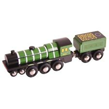 FLYING SCOTSMAN fits Train Engine Wooden Track ( Brio Thomas ) NEW