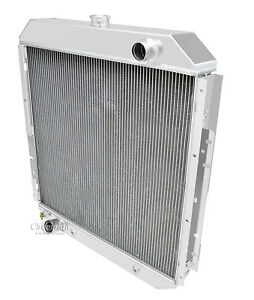 68 - 77 Ford F Series Truck 3 Row All Aluminum DS Radiator