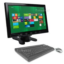 "10"" Ultrathin Color CCTV Monitor Touch Button Screen VGA HDMI + Speaker DE Local"