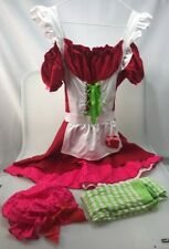Leg Avenue Sexy Strawberry Shrortcake costume M/L medium large junior