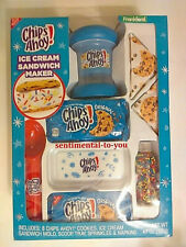 NIB Frankford NABISCO Chips Ahoy! ICE CREAM SANDWICH MAKER Kit BOX Gift Set