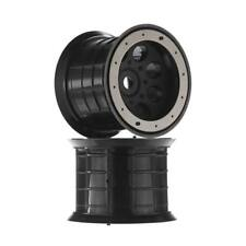 NEW Axial 8-Hole Oversize Beadlock Wheel 17mm Hex Black (2) AX8014