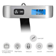 Portable Mini 50KG Hanging Digital Suitcase Luggage Weight Weighing Scale Tool