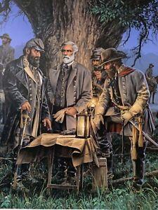 John Paul Strain - Night Conference - Collectible Civil War Print #373/950
