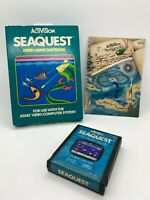 Seaquest Atari 2600 Game Complete w/ Box & Manual Free Shipping