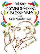 Erik Satie Gymnopedies Gnossiennes For Piano Learn to Play Music Book Classical