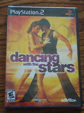 PS2 Dancing with Stars Game – Brand New