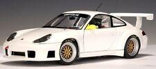 AUTOart 77821 PORSCHE 911 (996) GT3R die cast model road car white 1:18th scale