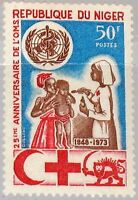 NIGER 1973 375 272 25th Ann WHO World Health Org. Nurse Medicine Medizin MNH