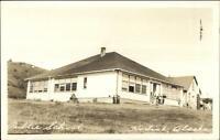 Kodiak AK Public School Real Photo Postcard