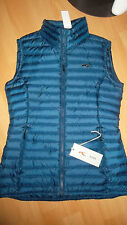 L Kjus Toni Sailer Daunenweste Ladies Cpress Down Vest LC40-800A blau Gr. 34