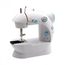 Small Portable Sewing Machine Denim Leather Stitch Electric Desktop Heavy Duty