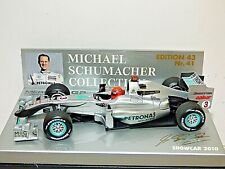 Minichamps Mercedes Formula 1 GP Petronas Show Car 2010 M. Schumacher