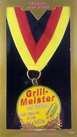 Orden Parrilla Meister el Temporada Cumpleaños,Diversión,Aniversario,Medalla El