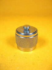 Stainless Steel -  Coaxial Termination Cap