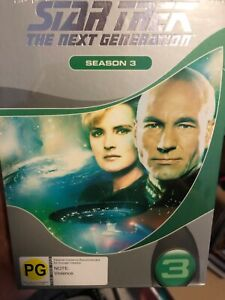 STAR TREK THE NEXT GENERATION SEASON 3 (7-DISC SET) (DVD, PG) (141836 K)