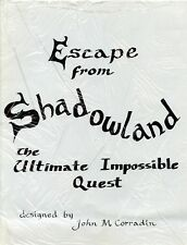 ESCAPE FROM SHADOWLAND THE ULTIMATE IMPOSSIBLE QUEST FANTASY RPG NM!