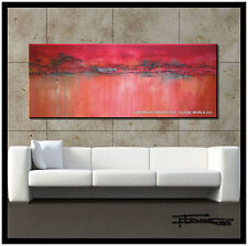ABSTRACT PAINTING MODERN CANVAS WALL ART Listed by Artist Signed US ELOISExxx