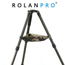 ROLANPRO Tripod Stone Pouch Bag Case for Benro Manfrotto Gitzo Triopod Velbon
