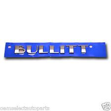 OEM NEW 2001 Ford Mustang Bullitt Trunk Deck Lid Emblem 1R3Z6342528AA GT