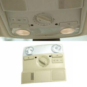 Light Reading Lamp Sunroof Switch Map Dome Beige Tan For VW Jetta Golf Passat