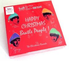"The Beatles Official Fan Club Christmas Box Set 7"" Colored Vinyl Sealed Mint OOP"