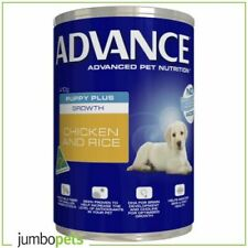 Advance Puppy Plus Growth Chicken Cans Wet Dog Food 12 x 410g
