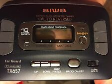 Aiwa Personal Cassette Players with Radio
