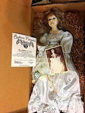 "Reborn Vampiric Doll Latrota Vampire Reborn By Hope Marie 4/3/07 OOAK Goth 24"""