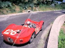 """MASERATI Birdcage tipo 60 TARGA FLORIO 1962 RARA COLORAZIONE 10x7"""" PHOTO"""