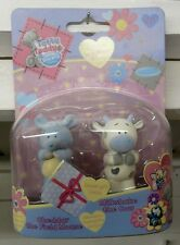 Tatty Teddy & my Blue Nose Friends CHEDDAR THE MOUSE & MILKSHAKE THE COW New!