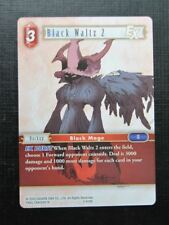 Final Fantasy Cards: BLACK WALTZ 2 3-015R # 2J54