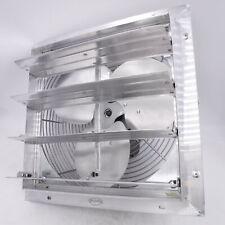 Jd Es Shutter Fan 16 115v 110hp 1ph Variable Speed Capable Aluminum 1440cfm