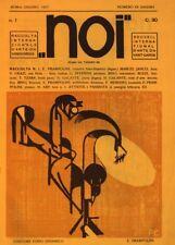 Noi number 1, 1917, Enrico Prampolini, Vintage Avant-Garde Dada Poster