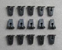 15 x Spreizmutter Befestigung Clips für VW Audi 867809966