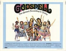 GODSPELL Movie POSTER 22x28 Half Sheet Victor Garber David Haskell Jerry Sroka