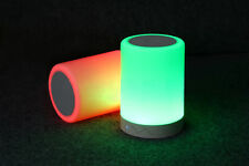 LED Lighting Mini Bluetooth Speaker Touch Sensor Led Table Lamp Speaker