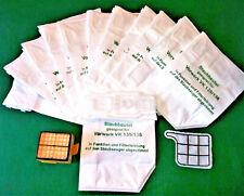 12 Staubsaugerbeutel,Staubbeutel,Filter, Set,geeignet für Vorwerk Kobold 135,136