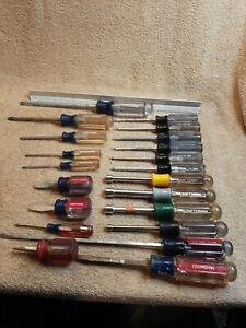 Vintage Craftsman Screwdriver Flat Torx nut drivers hand tools lot of 21