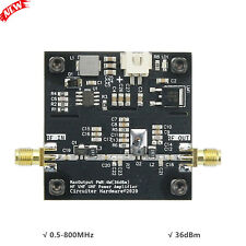 SBB5089 0.5-800MHz Microwave Power Amplifier VHF UHF RF Amplifier 36dBm DC