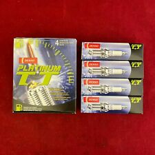 Set of 4: OEM DENSO Platinum TT Spark Plugs PK16TT 4503 *NEW IN BOX* JAPAN MADE