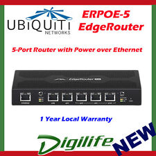 Ubiquiti EdgeRouter POE 5-Port Router Power over Ethernet Gigabit Router ERPoe-5