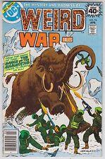 Weird War Tales 74 DC Comics 1979 March of the Mammoth - Cold War - Dead Image
