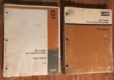 2 Case 621 PARTS CATALOG WHEEL LOADER Bur 8-7041 BINDER LIST GUIDE