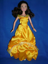 SIMBA Disney Princess Belle Poupée ~ avec robe ~ bon état ~ Jouer ou Unique